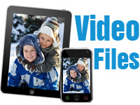 video tapes to mp4 video file