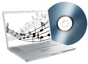 audio tape converted to digital mp3 file cd