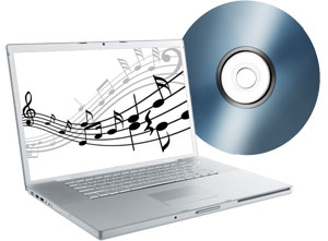 audio tape converted to cd and mp3 file