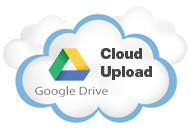 disc negative cloud upload | download files