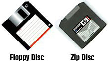 Floppy Disc, Zip Disc,  best pricing, sale pricing, digital conversion, to CD, DVD, Computer, PC, or Mac