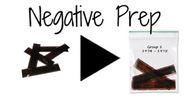 Prep Video Negatives