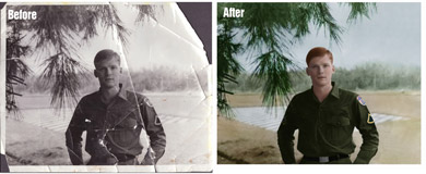 Digital Photo Restoration Service
